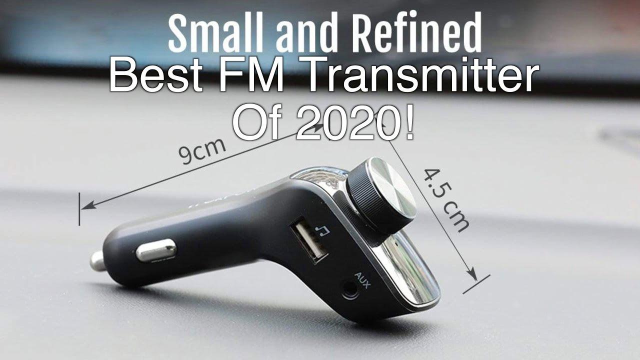 Best Bluetooth Fm Transmitter 2020 Best FM Transmitter Car Charger 2020   TrekPow Bluetooth FM