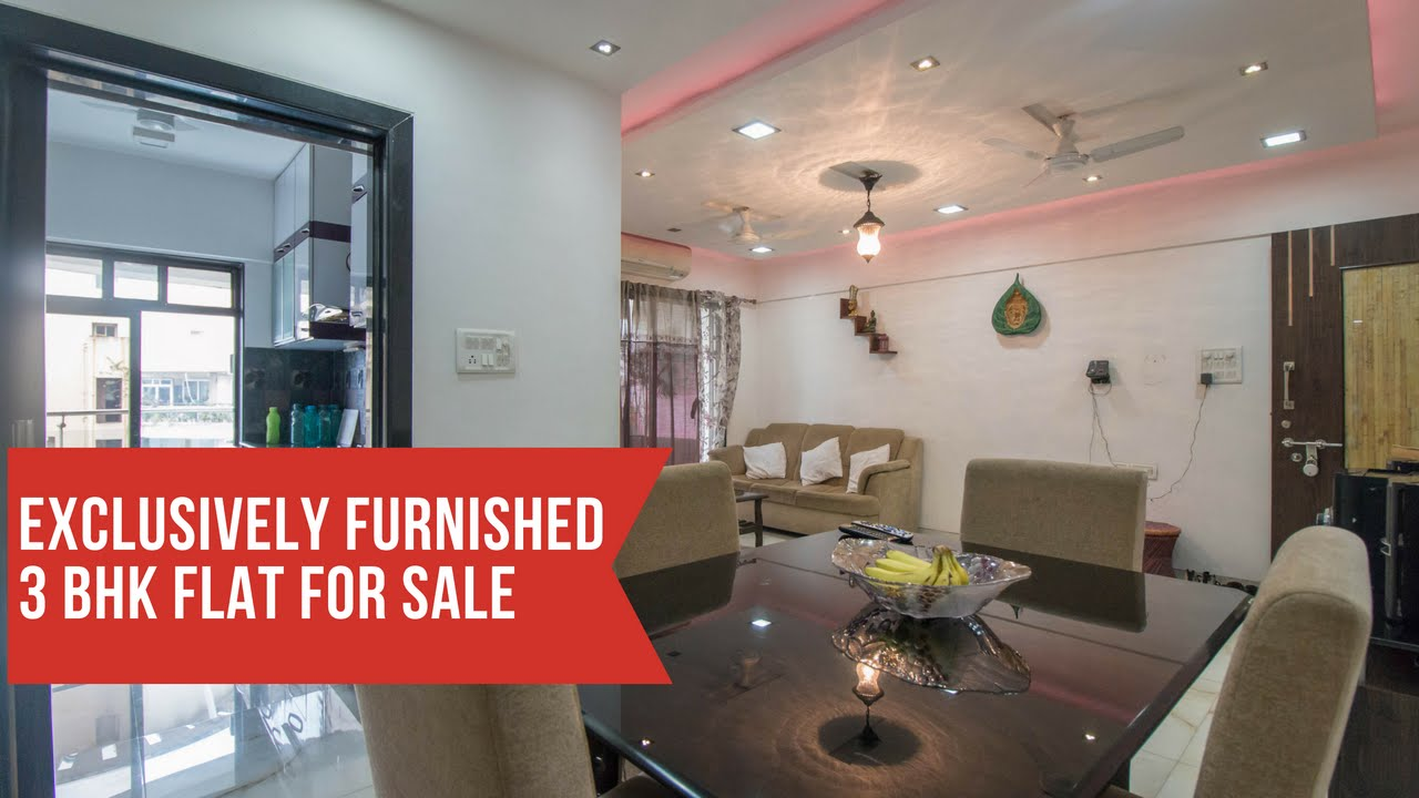 3 Bhk Furnished Apartment For Sale In Nahar Amrit Shakti Chandivali Youtube