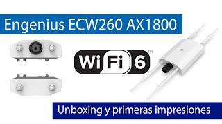 EnGenius ECW260: Unboxing y características de este AP de exterior con gestión Cloud