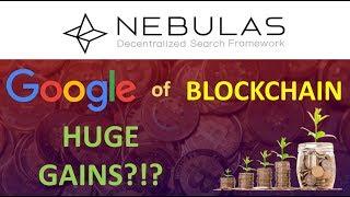 "NEBULAS token review: ""Google of blockchain""; Huge gains in 2018?!? $$$"