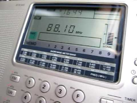 FM DX: Radio Batna Algeria 88.1 MHz received in Germany via Sporadic-E