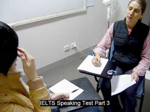 IELTS Speaking Test Part 2 @ Meridian International School Sydney