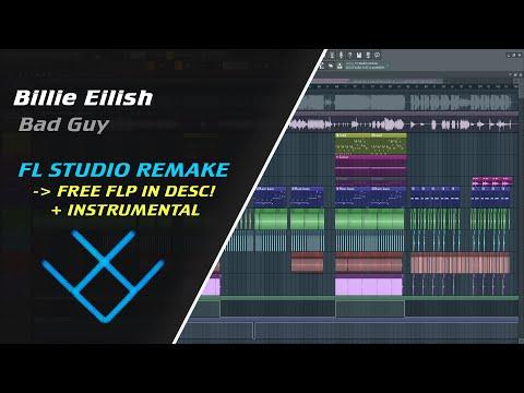 Billie Eilish - bad guy [REMAKE + FREE FLP] + Instrumental
