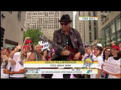 """[HD] Journey / arnel Pineda @ NBC Today Show """"Don't Stop Believin"""" = 7/29/11"""