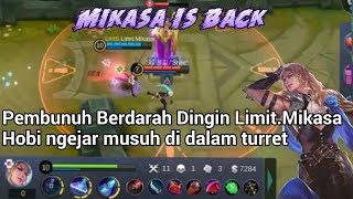 Mikasa Player Lancelot Terkejam yang pernah ada...