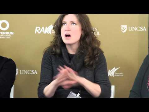 RiverRun International Film Festival: NC Film Incentive Panel 2014--Rebecca Clark