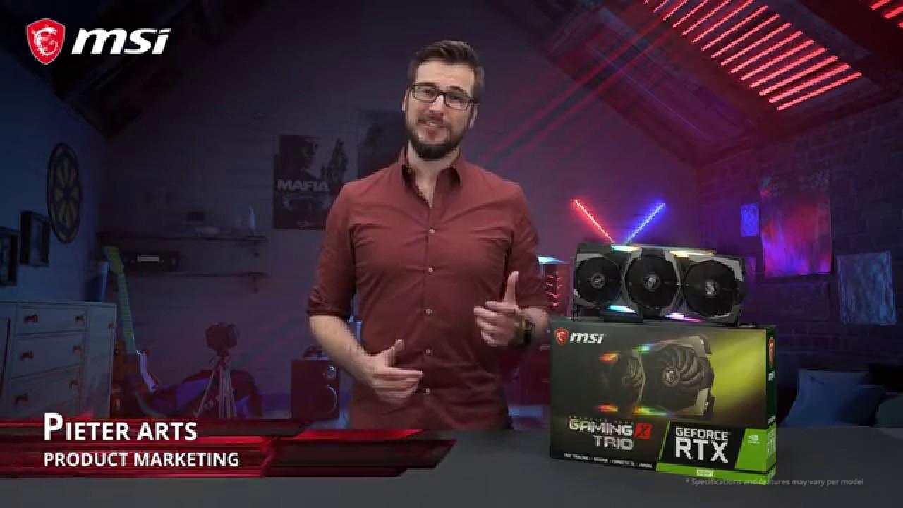 Puissance et refroidissement avec les cartes graphiques RTX 20 SUPER™ GAMING TRIO
