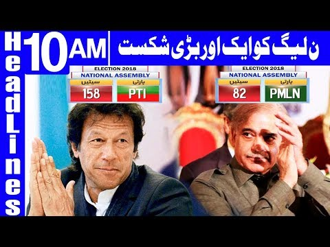 Over two dozen independents notify ECP on joining PTI | Headlines 10AM | 12 Augest 2018 | Dunya News