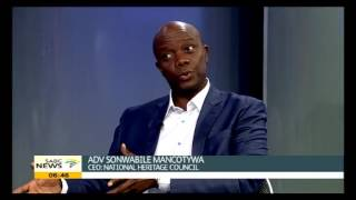 Sonwabile Mancotywa on defacing of statues around the country
