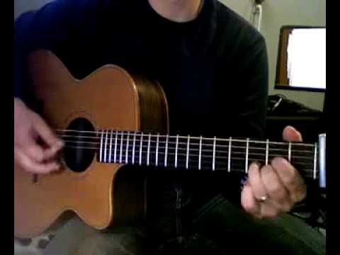 Leather and Lace guitar lesson - YouTube