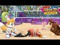 Mario & Sonic At London 2012 Olympic Games Beach Volleyball Part 22 Team Amy, Tails Gameplay