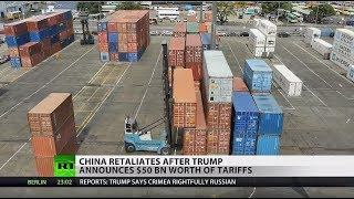 Trade war escalating: China matches US tariffs