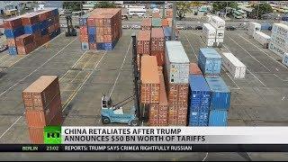 Trade war escalating: China matches US tariffs