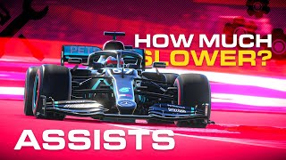 How Much Slower Is Using Assists On F1 2020?