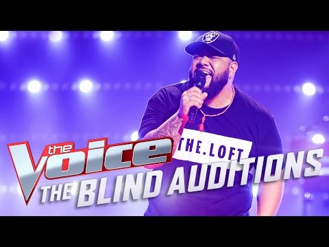 Jesse ToloPaepae sings I Got A Woman  The Voice Australia 2017