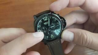 Обзор и натройка. Мужские часы Megir 3406 Pride - кварцевые с датой