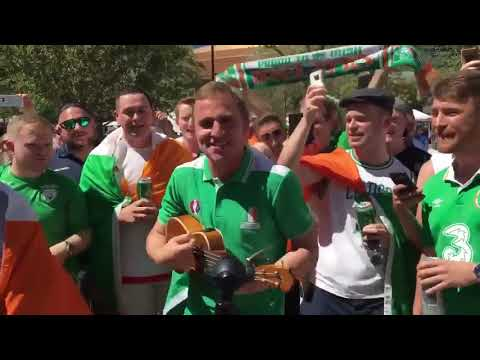 Irish Fans sing 'Theres Only One Conor McGregor' in Las Vegas