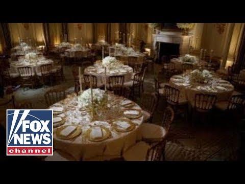 State dinner: Melania Trump plans elegant affair