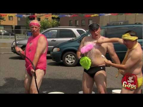 Sexy Gay Bikini Car Wash Prank
