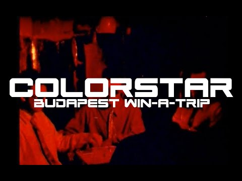 colorStar - Budapest Win-A-Trip (OFFICIAL VIDEO - ALBUM VERSION)