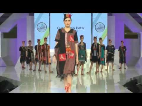 Cupumanik Batik by Ryani Utami Jogja Fashion Festival 2017  YouTube