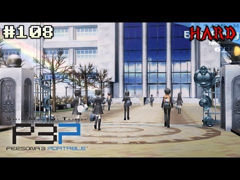 Szkolne Wspomnienia | Persona 3 Portable [HARD] #108