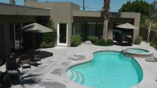 Palm Springs Archetectural Vacation Rental Home