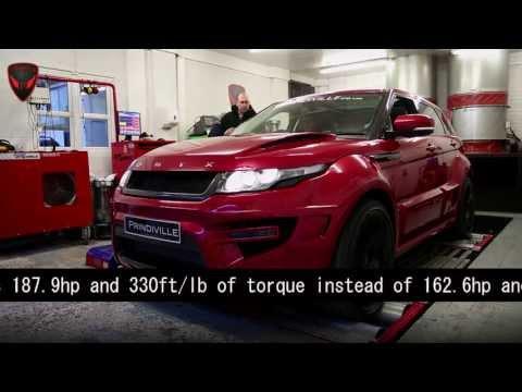 Prindiville Range Rover Evoque Tuning