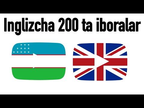 200 ta iboralar - Inglizcha - Oʻzbekcha