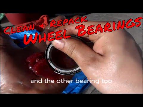 Cleaning/Repacking Wheel Bearings