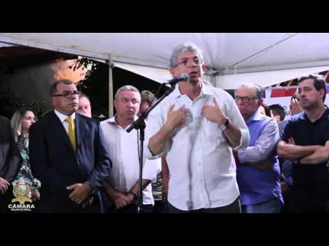 Discurso do Governador da Paraíba Ricardo Coutinho