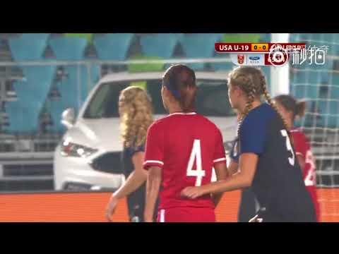 Women's Football - China U19 1-2 United States U19