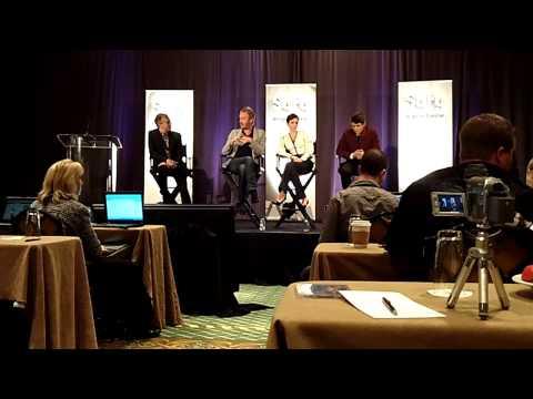 Rhys Ifans, Anna Friel & Charlie Rowe Talk Syfy's Neverland Miniseries