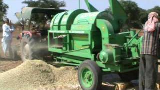 multi crop cutter thresher..