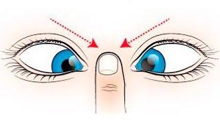 Упражнения для глаз при близорукости, восстановление зрения, видео урок