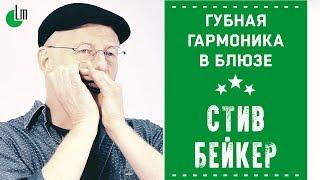 Губная гармоника в блюзе | Стив Бейкер