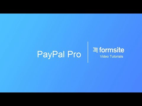 PayPal Payments Pro – Formsite Support