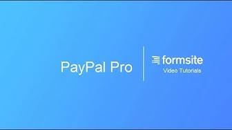 Collect payments with PayPal Payments Pro