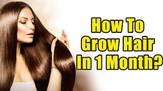How To Grow Hair In 1 Month? | Boldsky