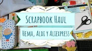 Compras Haul de Scrapbook de Aliexpress, Aldi y Hema