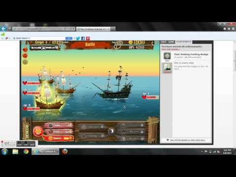 Caribbean Admiral Ghost Ship Battle