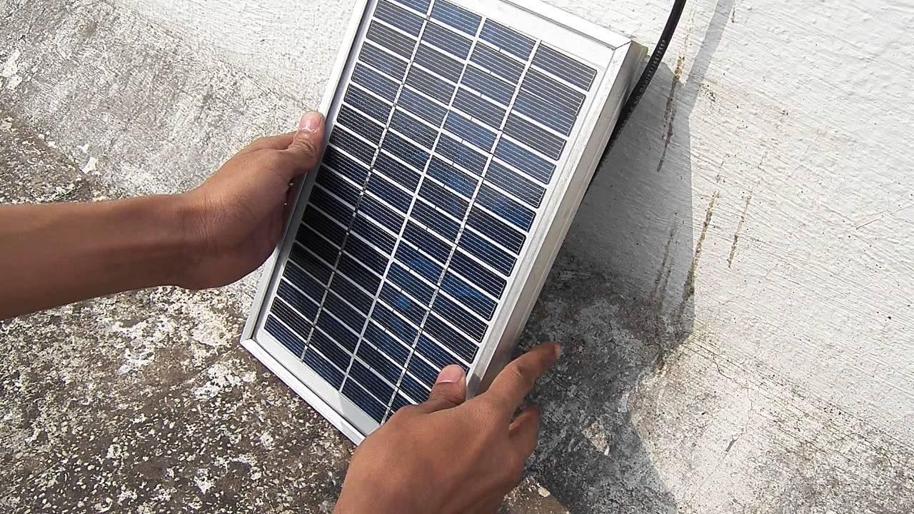 Solar Powered 5v 1a Usb  Part 2