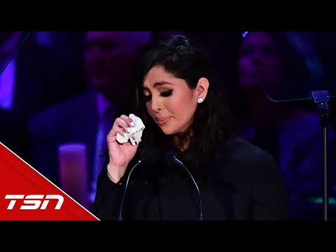 Vanessa Bryant delivers heartbreaking tribute to Kobe and Gianna at memorial
