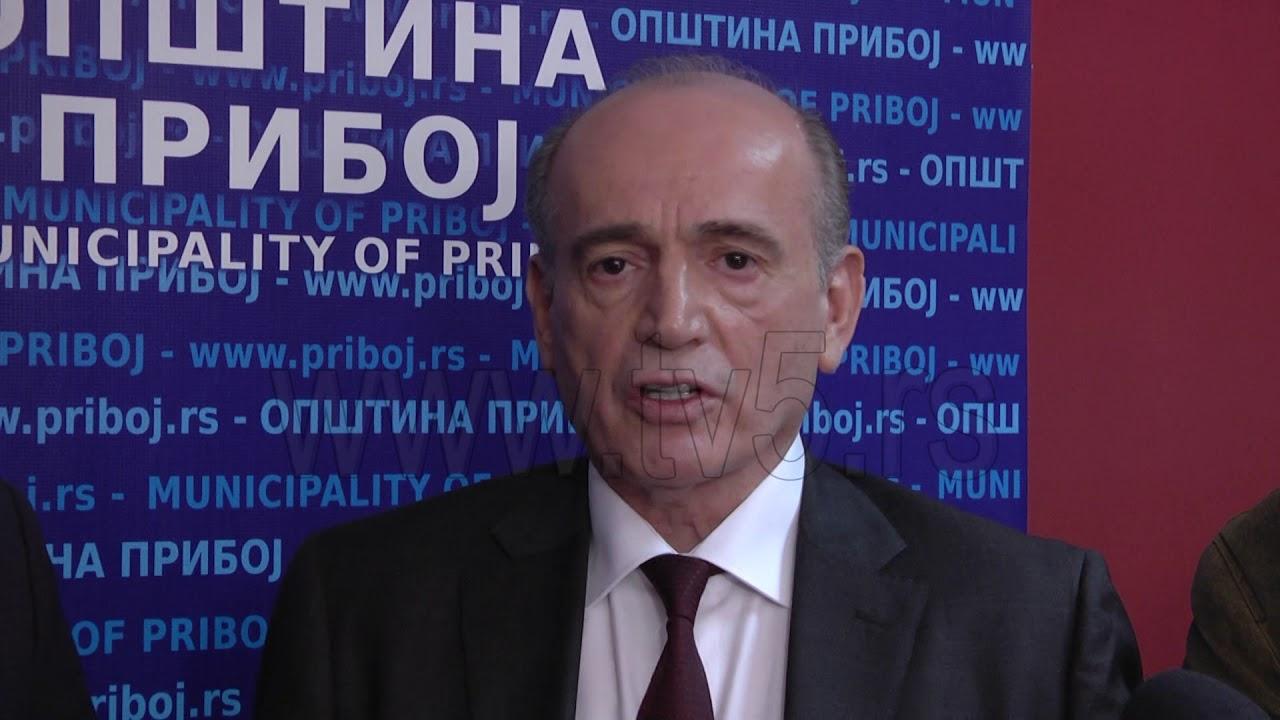 Rezultat slika za Ministar Milan Krkobabić u Priboju