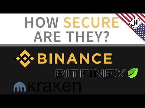 How secure are exchanges like Binance and Kraken?