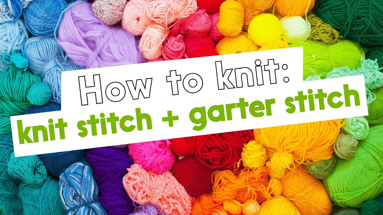 how to keep garter stitch from curling