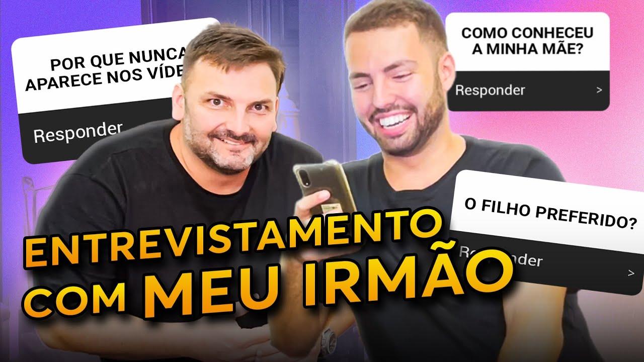 Download FIZ UMA SUPER ENTREVISTA COM MEU IRMÃO!