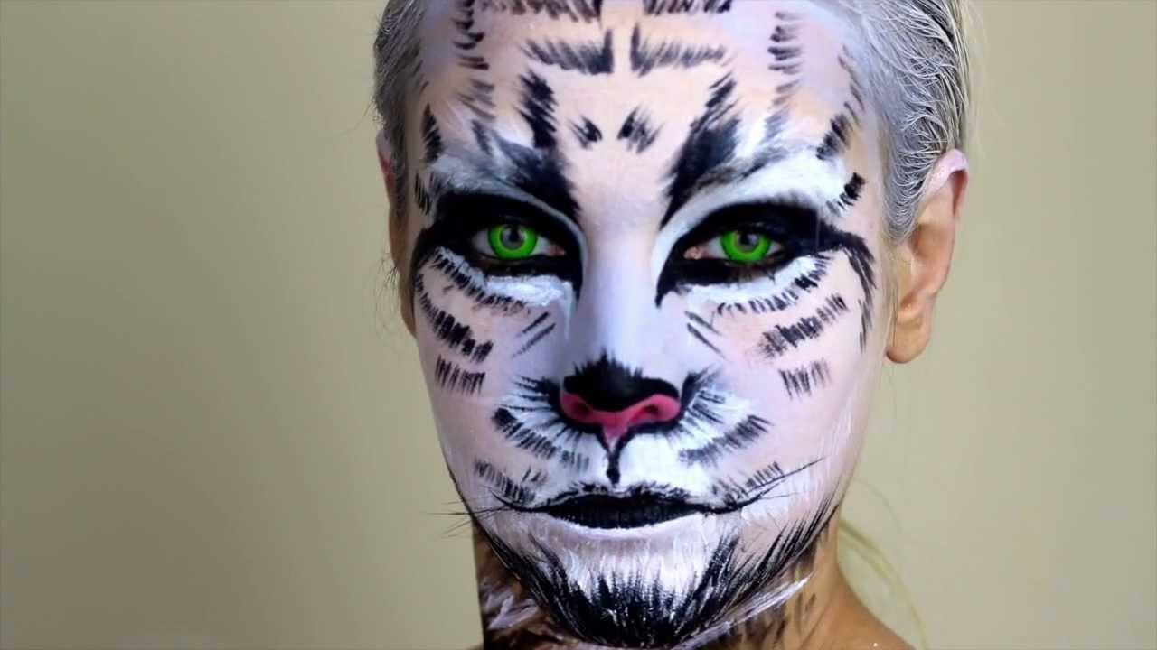 white tiger snow tiger makeup youtube. Black Bedroom Furniture Sets. Home Design Ideas