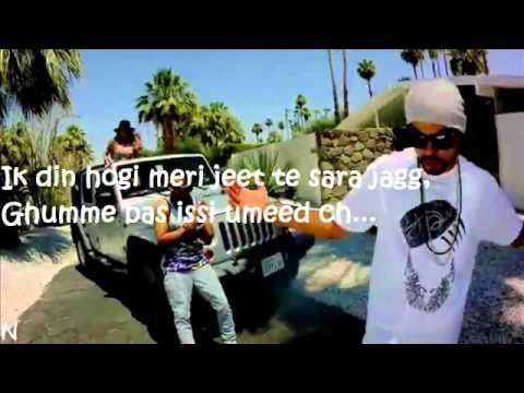 BOHEMIA-Lyrics Of Rap By BOHEMIA In TENSION STRESS