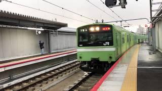 おおさか東線 南吹田駅 201系 到着 2019年3月16日